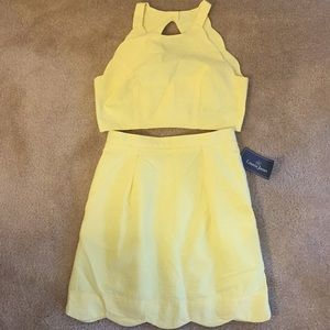 NWT Lauren James Carly Two Piece Set - Size Small